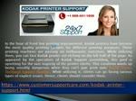 Kodak Printer Support Phone Number +1-888-451-1608