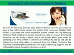 Samsung Printer Support Phone Number +1-888-451-1608