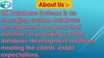 UK Database Systems - Best custom database software Development Company in Glasgow UK