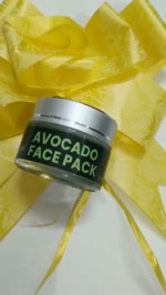 Mirah Belle Naturals | Avocado Face Pack | Organic Face Pack
