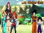 FanFic: ¿QHPS si Gokú y Gohan iban al mundo Naruto? / Capítulo 2 / Los Ninjas Son