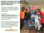 Internet par satellite en Afrique: de l'Installer pour grow votre entreprise!