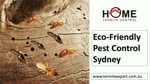 Eco-Friendly Pest Control Sydney