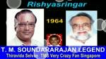 T. M. Soundararajan Legend &   Rishya Singar  1964