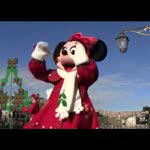 Adorable Minnie Mouse Show With Cartoon Characters