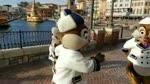 Amazing Special Dance Chipmunks Show on Bridge For Little Kids Entertainment