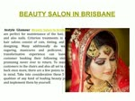 Best beauty salon in brisbane