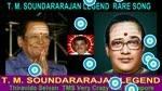 T. M. Soundararajan Legend Rare Song Vol 12