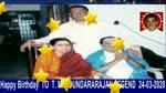 Happy Birthday To T. M. Soundararajan Legend 24-03-2020,