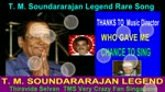 T. M. Soundararajan Legend Rare Song Vol 20