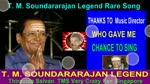 T. M. Soundararajan Legend Rare Song Vol 21