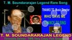 T. M. Soundararajan Legend Rare Song Vol 43