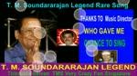 T. M. Soundararajan Legend Rare Song Vol 44