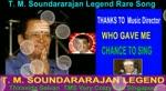 T. M. Soundararajan Legend Rare Song Vol 47