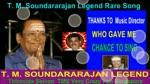 T. M. Soundararajan Legend Rare Song Vol 50