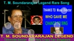 T. M. Soundararajan Legend Rare Song Vol 52