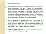 Theatre Based Training & Learning