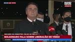 "Bolsonaro dá entrevista sobre a máfia chamada; ""Globo"""