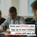 Make money by renting servers