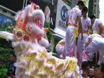 3碟2膊醒狮表演 133L (Human Mobile Stage 133L),醒狮功夫, Lion Dance Kung Fu. 中外周家