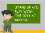 Stand Up And Play With The Toys At School Mid-Break Bumper