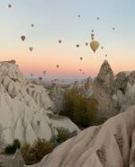 Let's fly over Cappadocia, Turkey  Video credit: @lenore.cappadocia