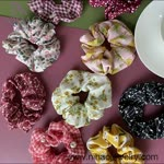 Fashion hair scrunchies for you to wear!