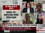 Chocko Valliappa in Conversation with NDTV on Work from Home Challenges