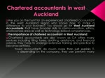 Chartered Accountants In West Auckland