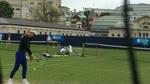 Caroline Wozniacki - Training 2014