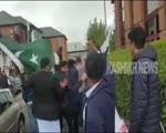 Pakistanis scuffle with PoK activists during protest in UK
