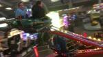 UFO and Waltzers at Pleasureland Arbroath