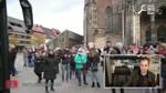 Mit dem Info Bus heute in Ulm