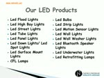 LED Light Supplier in UAE