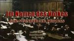 Lange Nacht zum Nürnberger Prozess - Im Namen des Volkes [Audio]