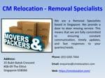 CM Relocation - Relocation Services Process