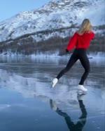 Ice skating in Graubu?nden