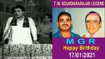 M G R Happy Birthday 17,01,2021