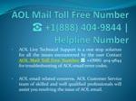 AOL Email Helpline Number ☎ (+1888~404~9844) | Customer Service Care
