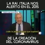 CADENA RAI ITALIANA ALERTO EN 2015 SOBRE EXPERIMENTOS PARA CREAR NUEVO VIRUS EN CHINA