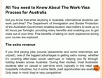 All You need to Know About The Work-Visa Process for Australia