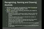 Chem 30 C.10 Alcohols and Elimination Reactions