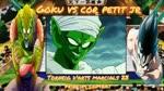 goku vs cor petit jr final torneig d'arts marcials 23 principi combat