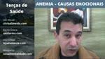 ANEMIA - CAUSAS EMOCIONAIS