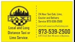Taxi and Courier in New Jersey.