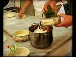 Scaccia di pomodoro prezzemolo e cipolla - Italian recipe with English subtitles