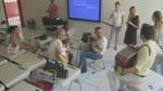 Deniz ve mehtap Müzik Öğretmenleri Söylüyor Provalar Ses ve Enstrüman Uyumu Müzik Emekçileri